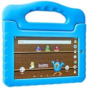 Tablet Kids Galinha Pintadinha Multilaser Quad Core 8gb