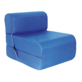 Sillón Cama Imperial D-15 0,65 Cm. Azul