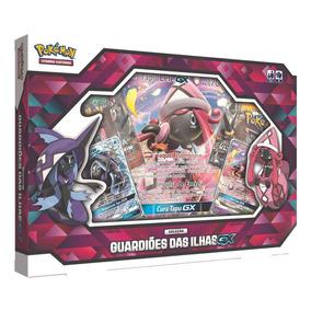 Jogo Pokémon - Box Guardiões Das Ilhas - Gx - Copag