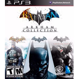 Batman Arkham Collection Ps3 Entrega Inmediata