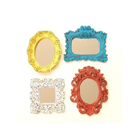 Kit C/ 4 Mini Espelhos Grande Color