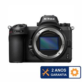 Câmera Nikon Z6 Mirrorless 24mp 4k - 2 Anos De Garantia