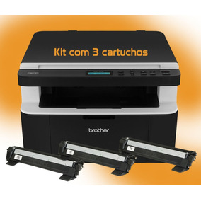 Multifuncional Brother Dcp 1602 Nfe Kit 3 Toners