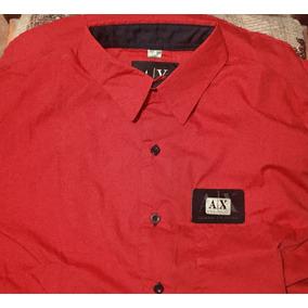9f5414e0225 Camisa Armani Exchange En Buen Estado Nueva
