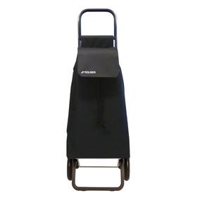 Carrito De Compras Rolser Saquet Color Negro