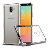 Capa Anti Shock E Pelicula De Vidro 3d Samsung Galaxy J8