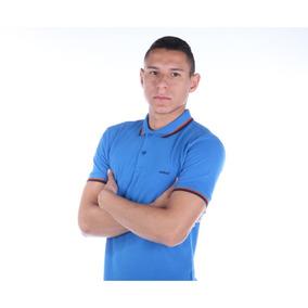 Camisa Polo Colcci Masculina Slim Com Detalhe Gola E Mangas 3b9bcdb8a9fd2