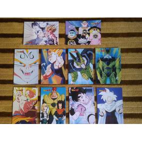Set Lote Com 24 Cartas Cards Originais Dragon Ball Z Goku Bo