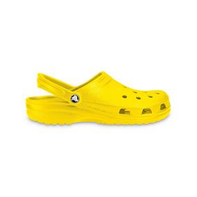 Crocs Originales Classic Amarillo Mujer