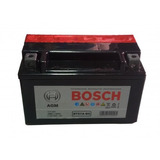 Batería Moto Bosch Agm 6.5ah Bt7b-bs Positivo Derecho
