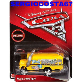 Disney Cars 3 Miss Fritter Maria Busão Onibus Escolar