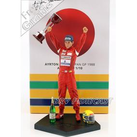 1/10 Iron Studios Estátua Ayrton Senna Mclaren Suzuka F1 88