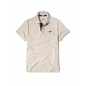 Camiseta Hollister Crema Xs