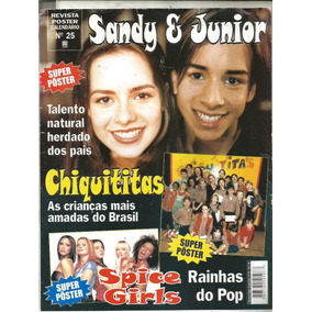Revista Posters - Sandy & Jr - Spice Girls - Chiquititas