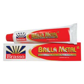 Brasso Brilla Metal Pasta Pulidora Crema Limpia Metales 70gr