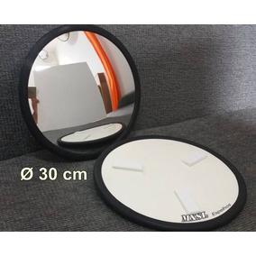 Espelho 30 Cm Borr. Autoadesivo Segur Estacionamento Garagem