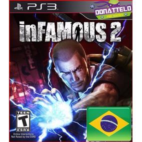 Infamous 2 Ps3 Codigo Psn Play 3 Em Portugues Br