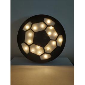 Luminária De Mesa Bola De Futebol - Luminárias de Mesa no Mercado ... f38135eea4d8b