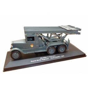 Miniatura Caminhão Militar Zis Katyusha Novo / Lacrado !!!