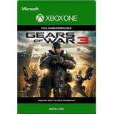 Gears Of War 3 Código + Juego Gratis Código Xbox One