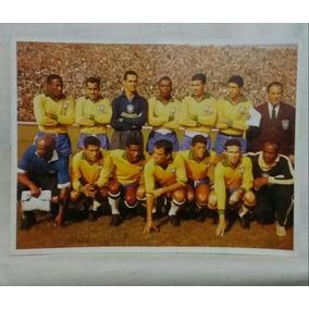 Figurinha Da Seleção Brasileira 1962