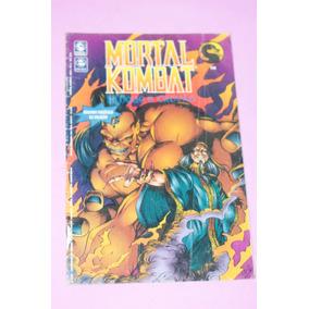 Hq Gibi Mortal Kombat Nº2 Editora Escala Com Poster