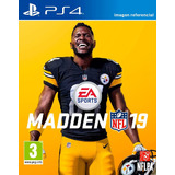 Madden Nfl 19 / Juego Físico / Ps4