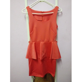 886e170f1b Vestido Corto Color Coral - Ropa y Accesorios en Mercado Libre Perú