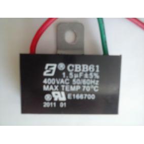 Capacitor 1,5uf X 400v Para Ventiladores