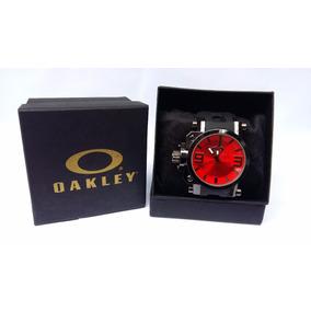 6dd626b9fb7 Caixa Para Fotos Iluminacao Oakley - Relógio Masculino no Mercado ...
