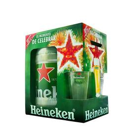 Barril 5 Lts Heineken Importado + 2 Vasos 250cc Envío Gratis