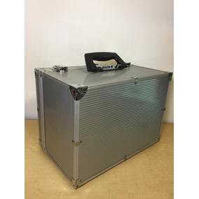 Caja Estuche Aluminio Grande Candado De Combinación Oferta