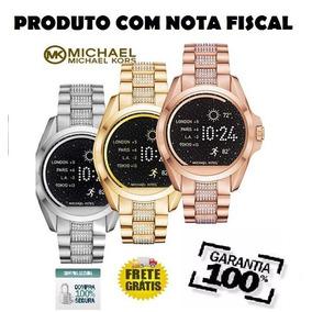 Relogio Michael Kors Com Pedra - Joias e Relógios no Mercado Livre ... 036e2feee5