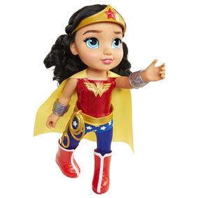 Boneca Dc Super Hero Girls Mulher Maravilha Toddler - 35cm