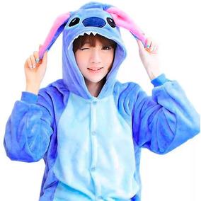 Kigurumi Mameluco Pijama Stitch Disfraz Cosplay Envio Grati
