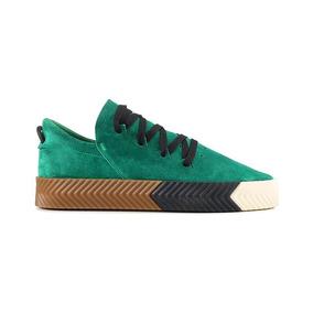 Tenis adidas Alexander Wang Skate Originals Moda Gucci Fila