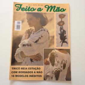 Revista Feito Mão Tricô Meia Estação 16 Modelos B190