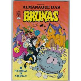 1990 Hq Quadrinhos Almanaque Das Bruxas Nº 1 Editora Abril