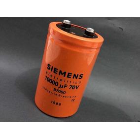 Capacitor 10000uf 70v Kit C/10pcs P/ Fonte, Potencia De Som