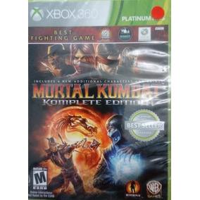 Mortal Kombat Komplete Edition Xbox 360 Novo Lacrado