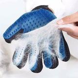 Guante Cepillo Plastico Masajeador Perros Gatos 5 Dedos