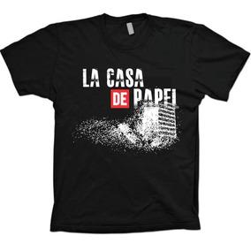 Camiseta Séries Netflix - La Casa De Papel - 100% Algodão!!