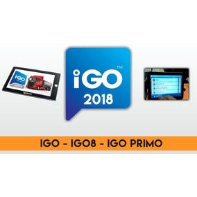 Actualización Mapas Igo8, Lgo Primo - Mayo 2018