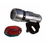 Lanterna Powerbean P/ Ciclismo - Novo