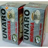 Unaro Moringa 500mg- 2 Frascos Com 60 Capsula - Extra Forte