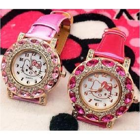 6b6a7cf73d4 Relogio Da Hello Kitty Crianca Infantil - Relógios no Mercado Livre ...