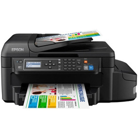Impressora Epson L655 Multifuncional 4x1 Wifi Tinta Bivolt