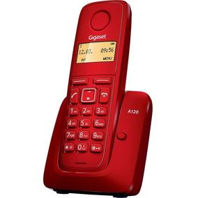 Teléfono Inalámbrico Gigaset A120 Rojo Tienda Oficial