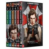 Resident Evil - Coleção Completa Em Dvd * 6 Filmes