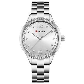 Relógio Feminino Curren Aço